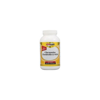 Nutraceutical Sciences Institute  NSI NSI Glucosamine Chondroitin & MSM w/ Vitamin C -- 240 Tablets