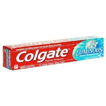 Colgate Luminous Fluoride Toothpaste, Crystal Clean Mint, 6 oz (170 g)