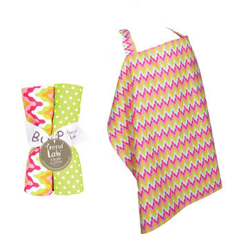Test NURSING COVER AND BURP CLOTH SET SAVANNAH