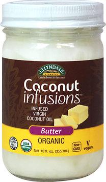 Ellyndale Organics Organic Coconut Infusions Butter-12 oz Jar
