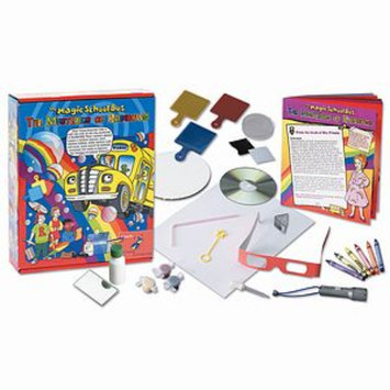 The Young Scientists Club The Magic School Bus Mysteries of Rainbows Science Kit