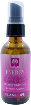 Plantlife Natural Body Care - Aromatherapy Personal Mist Energy - 2 oz. CLEARANCE PRICED