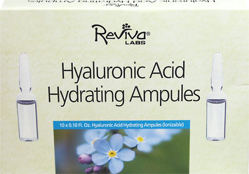 Reviva Labs Hyaluronic Acid Hydrating Ampules 10 Pack