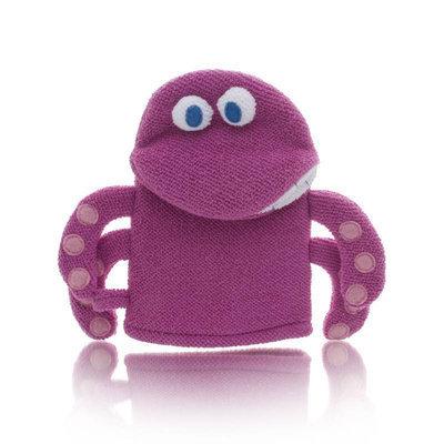 Upper Canada Soap & Go Fish Octopus Cherry Bubblegum Bath Mitt