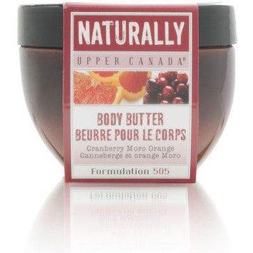Upper Canada Naturally Cranberry Moro Orange Body Butter