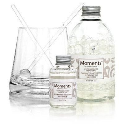 Moments by Upper Canada Waterbead Fragrance Diffuser White Cedarwood
