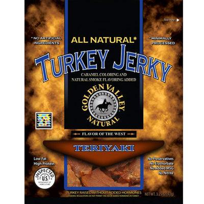 Golden Valley Natural Turkey Jerky Teriyaki - 3.25 oz