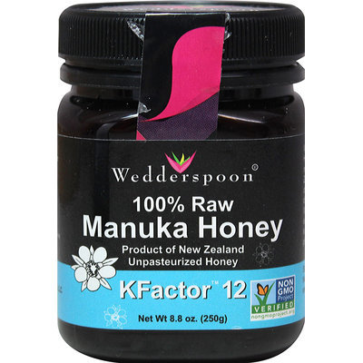 Wedderspoon 100% Raw Manuka Honey Active 12+