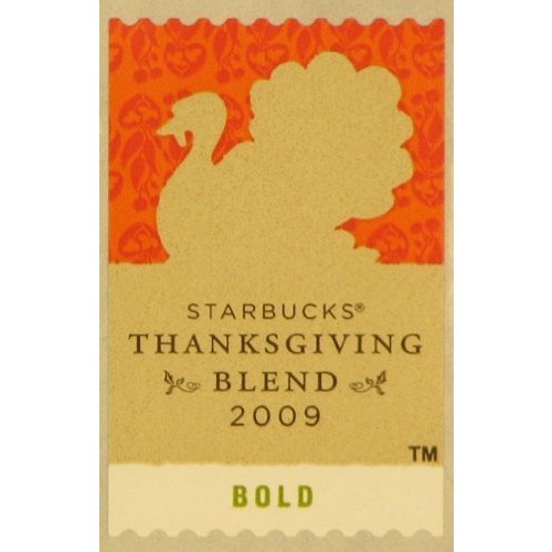 Starbucks Thanksgiving Roast Coffee, 10-Ounce Bag