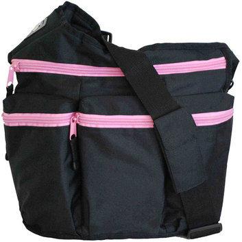 Diaper Dude Diaper Diva Bag in Black / Pink
