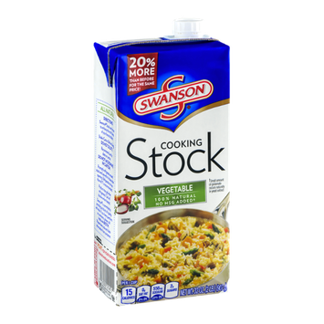 Swanson Cooking Stock Vegetable
