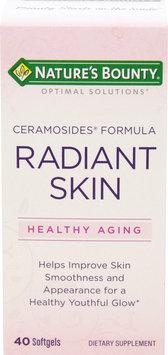Nature's Bounty Radiant Skin Ceramosides Formula