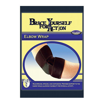 Bell-Horn Universal Elbow Wrap in Black