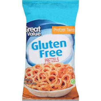 Wal-mart Stores, Inc. Great Value Gluten Free Pretzel Twists, 8 oz