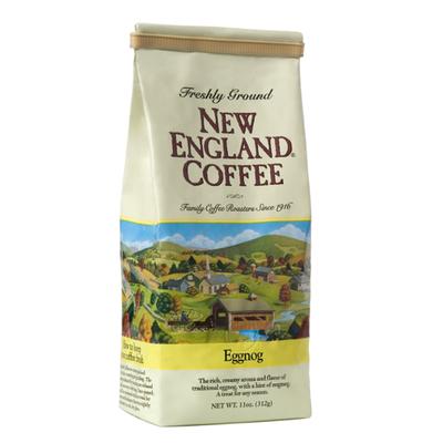 New England Coffee Eggnog Freshly Ground Coffee