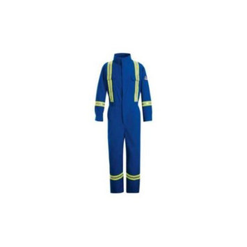 Bulwark 38 Men's Royal Blue Long Coveralls CNBTRB RG 38