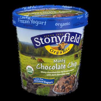 Stonyfield Organic Minty Chocolate Chip Low Fat Frozen Yogurt