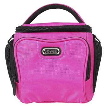 Energizer Bower Small Adjustable Dividers Dazzle Camera Accessory Bag - Pink