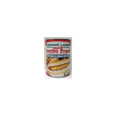 Cedar Lake Jumbo Frank - Vegan Hot Dogs (12 Cans)