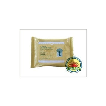 Shady Day Daily Sun Protection Wipes - SPF 30 - 15 ct