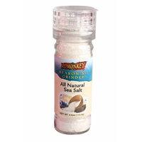 Red Monkey Foods Sea Salt Grinder, 4-Ounce Bottles (Pack of 6)