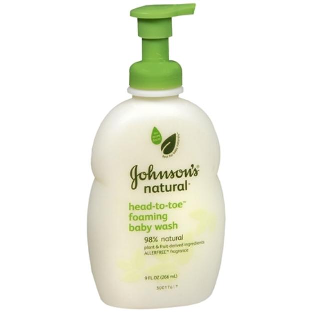 Johnson's® Head-to-Toe Baby Wash