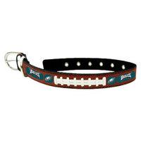 GameWear Philadelphia Eagles Classic Leather Medium Football Collar
