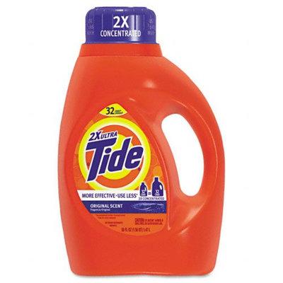 Procter & Gamble Ultra Liquid Tide Laundry Detergent, 50 oz Bottle, 6 per carton - Kmart.com