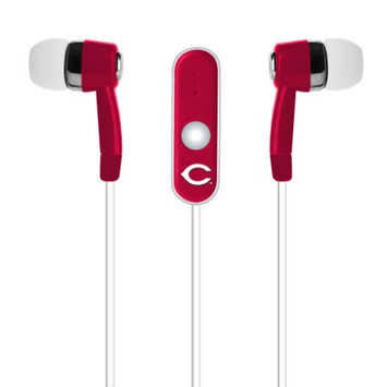Cell Armor Licensed MLB Earbuds. Cincinnati Reds
