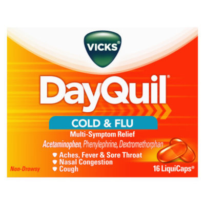 Vicks Dayquil Multisymptom Cold & Flu Relief LiquiCaps