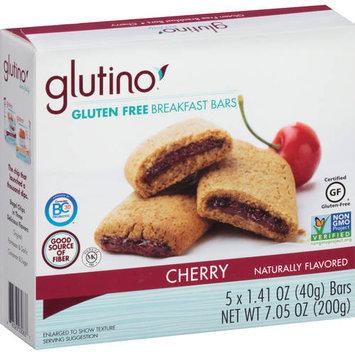 Glutino Cherry Gluten Free Breakfast Bars, 1.41 oz, 5 count