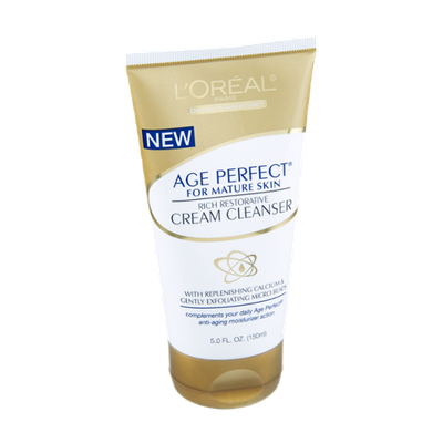 L'Oréal Paris Age Perfect for Mature Skin Cream Cleanser