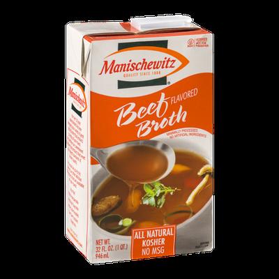 Manischewitz Beef Broth