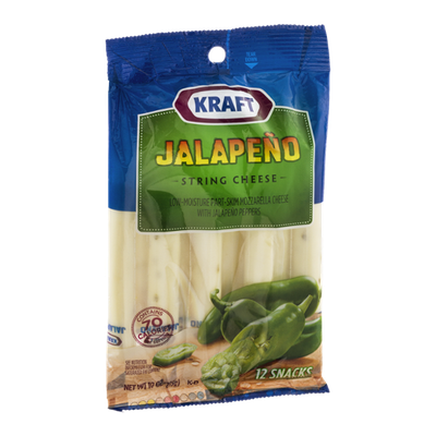 Kraft Jalapeno String Cheese