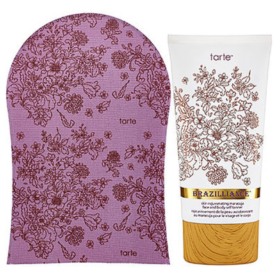 tarte Brazilliance™ Skin Rejuvenating Maracuja Self Tanner with Mitt