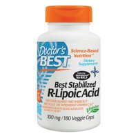 Doctor's Best Stabilized R-Lipoic Acid