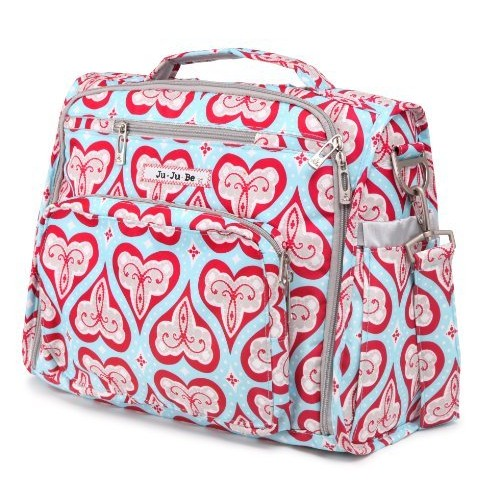 Ju Ju Be Ju-Ju-Be B.F.F. Convertible Diaper Bag, Sweet Hearts (Discontinued by Manufacturer)