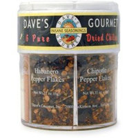 Daves Gourmet Dave's Gourmet 6 Pure Dried Chiles, 1.97 Ounce
