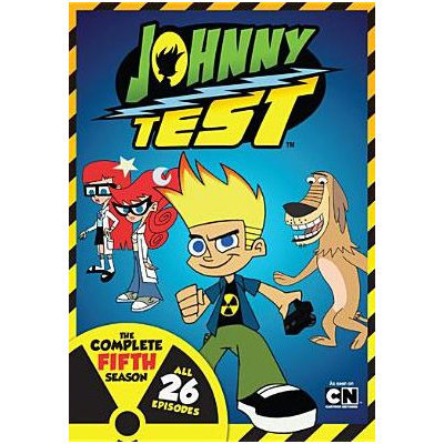 Johnny Test: The Complete Fifth Season (dvd) (2 Disc)