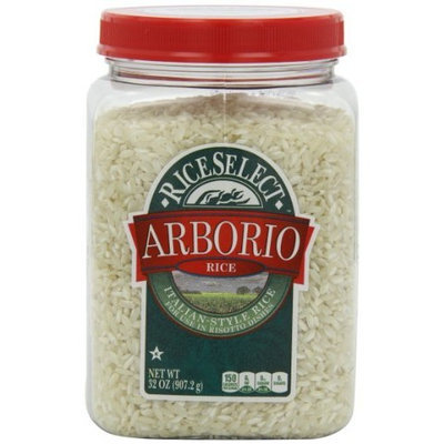 Rice Select RiceSelect Arborio Rice, 32-Ounce Jars (Pack of 4)