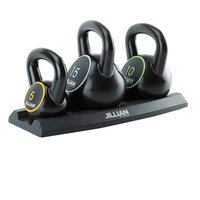 Jillian Michaels Vinyl Kettlebell Set