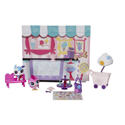Hasbro Littlest Pet Shop Yummy in Our Tummies Themed Pack