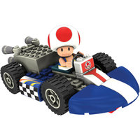 K'NEX Mario Kart Wii Building Set: Toad with Standard Kart
