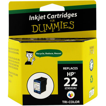 For Dummies - HP 22 Inkjet Cartridge