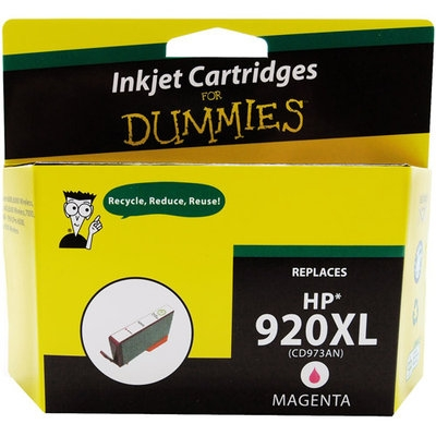 For Dummies - HP 920XL High-Yield Remanufactured Inkjet Cartridge - Magenta