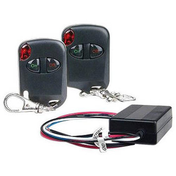 LOGISYS RM02 12v 15A relay w/ remote control kit