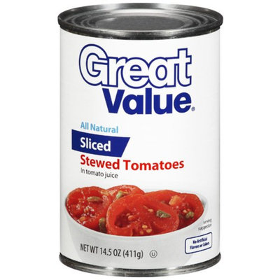 Great Value : Stewed Tomatoes