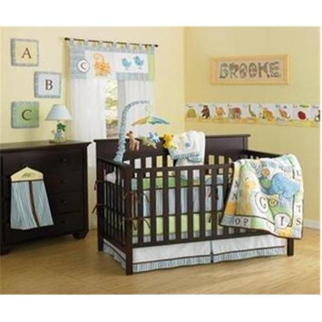 New Country Home 4751A ABC Animal Friends Crib 10 piece set