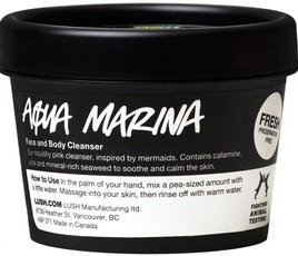 LUSH Aqua Marina Face and Body Cleanser