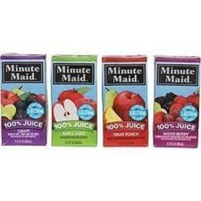 Minute Maid 100% Juice Variety